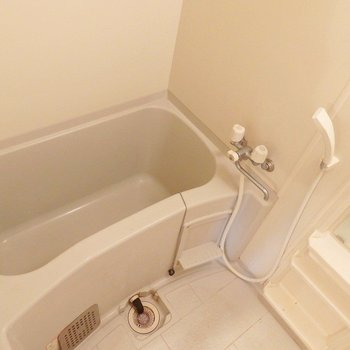 お風呂はシンプル。