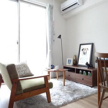 お気に入りの家具で彩って!(※写真は3階の同間取り別部屋のものです)