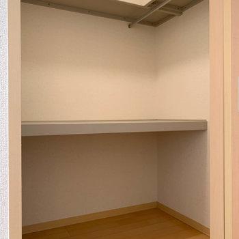広々ウォークイン!※写真は2階の同間取り別部屋のものです