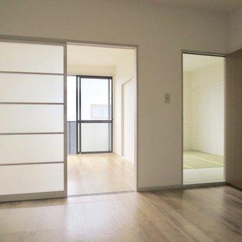 【DK】洋室と和室がこんにちは