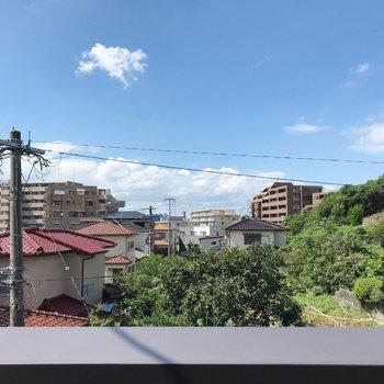 綺麗な青空が広がる、穏やかな町です
