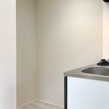 【DK】キッチン後ろに冷蔵庫が置けます