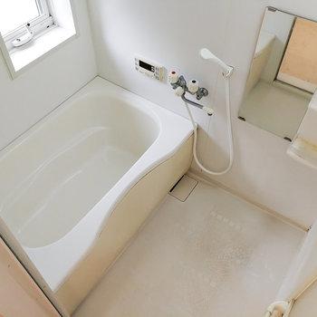 換気もしやすいお風呂。