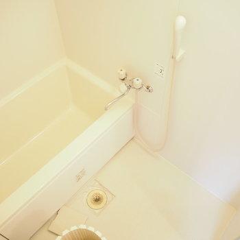 シンプルなお風呂です