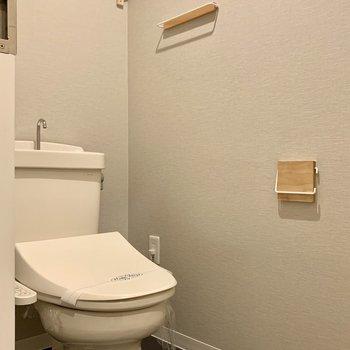 ウォシュレット付きのトイレで快適でっす