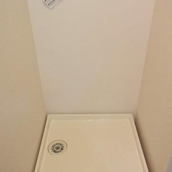 洗濯機置き場はもちろん室内