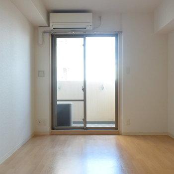 室内に柱がないので、デッドスペースがなく気持ちのいい印象