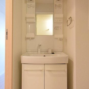 洗面台は使いやすさ重視で