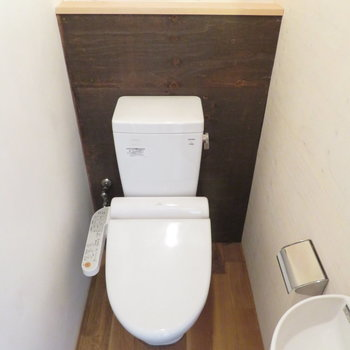 トイレも綺麗で手洗い場もあります