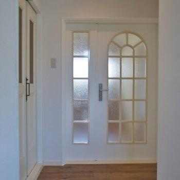 こちらは玄関スペース
