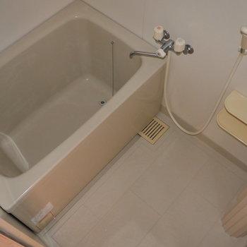 シンプルな浴室です。