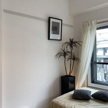 絵を飾りたくなりますね。※写真は2階の同間取り別部屋のものです