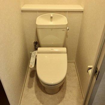 トイレもウォシュレット付いています!