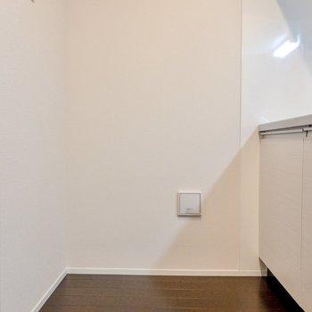 【LD】キッチンには大型の冷蔵庫を置くと少し窮屈かも。