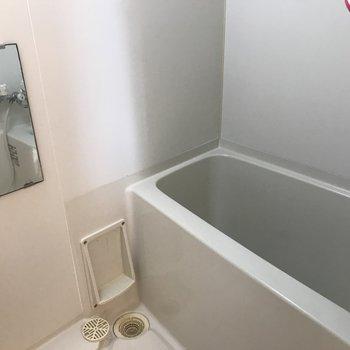 お風呂場は大きめの浴槽付き