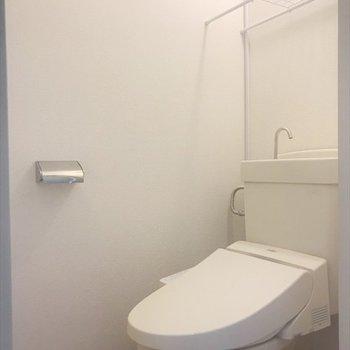 清潔感のあるトイレ◎