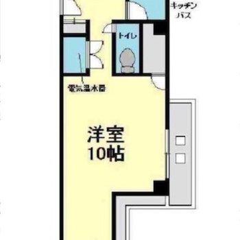 1人暮らしにピッタリなお部屋です◎