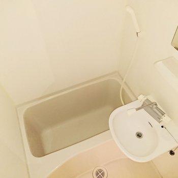二点ユニットバスなので、お風呂のついでに掃除できます。