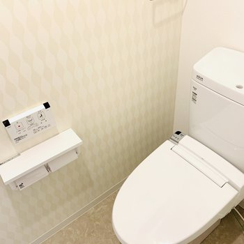 綺麗なトイレでした