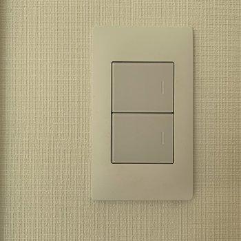 ほんのり透明感のあるスイッチがかわいかったです。