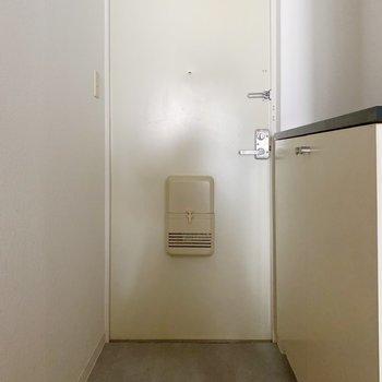 玄関も狭くはないかなあ。