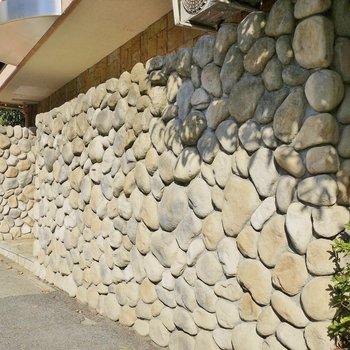 石垣とってもお洒落。