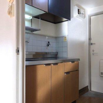 冷蔵庫置場は居室の中になります。