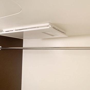 浴室乾燥や浴室暖房もしっかりと付いています。