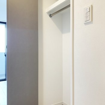 ちょっと小さめかな。※写真は7階の同間取り別部屋のものです