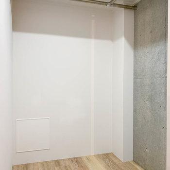 【B1洋室】収納部分はウォークインクローゼットになっています。