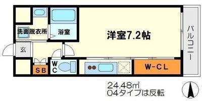 プレッツァ新大阪 の間取り