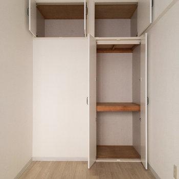 【西側洋室】左下は開きませんのであしからず。