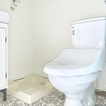 トイレと洗濯機は脱衣所に。