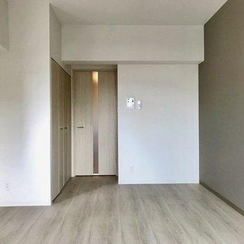 新築ピカピカですよ〜※写真は4階の同間取り別部屋のものです