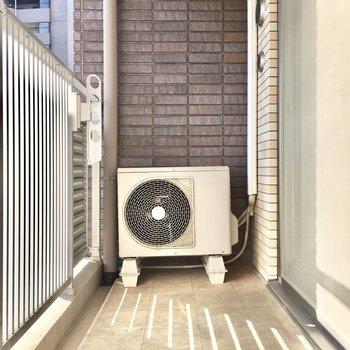洗濯物もよく乾きそうですよ◎※写真は3階同間取り・別部屋のものです。