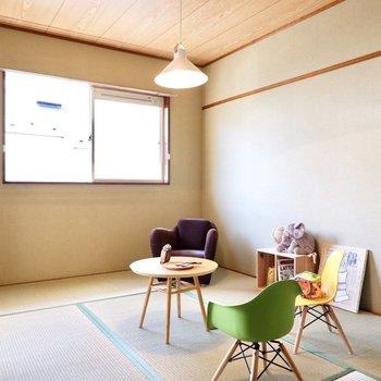 和室は家族の寝室に良さそうです。