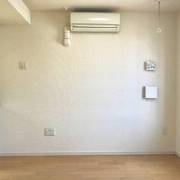 エアコン完備がうれしいですね。