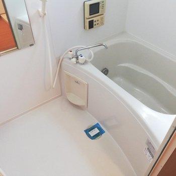 バスルームはシンプル!