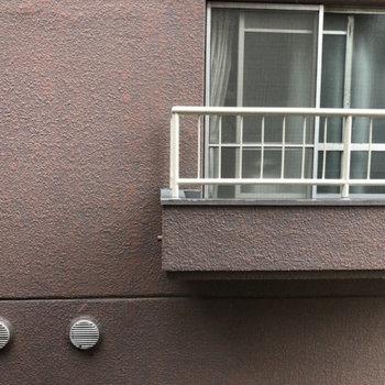 【上階】バルコニーからは堂々と見えます