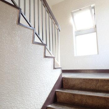 クラシックな階段。