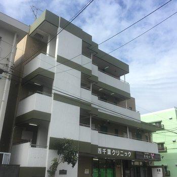 建物1階にはクリニックが入っています。