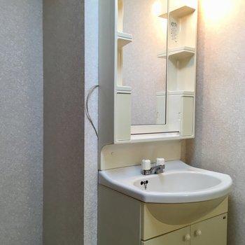 歯ブラシ専用の収納スペースがありました。