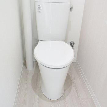 トイレはウォシュレット付きではありませんが、きれいになっています