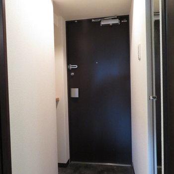 玄関も十分な大きさです