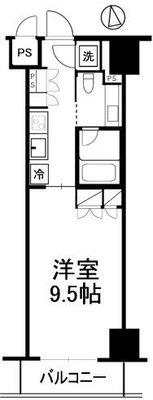 コンパートメント東京中央 の間取り