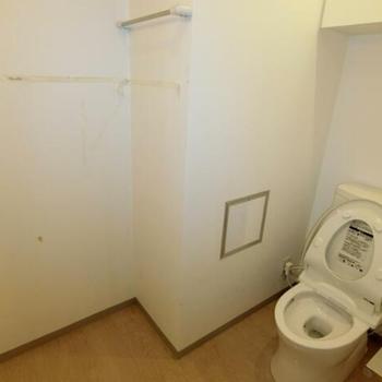 トイレが広々