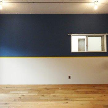 壁紙がかわいい!※写真は3階の同間取り別部屋のものです