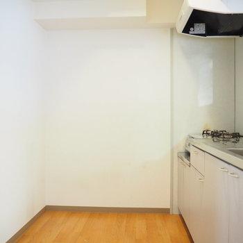 キッチンスペースも広々としています