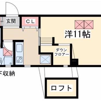 キッチンと寝室に分けられるのもGOOD。
