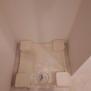 洗濯機置き場もおとなりに。
